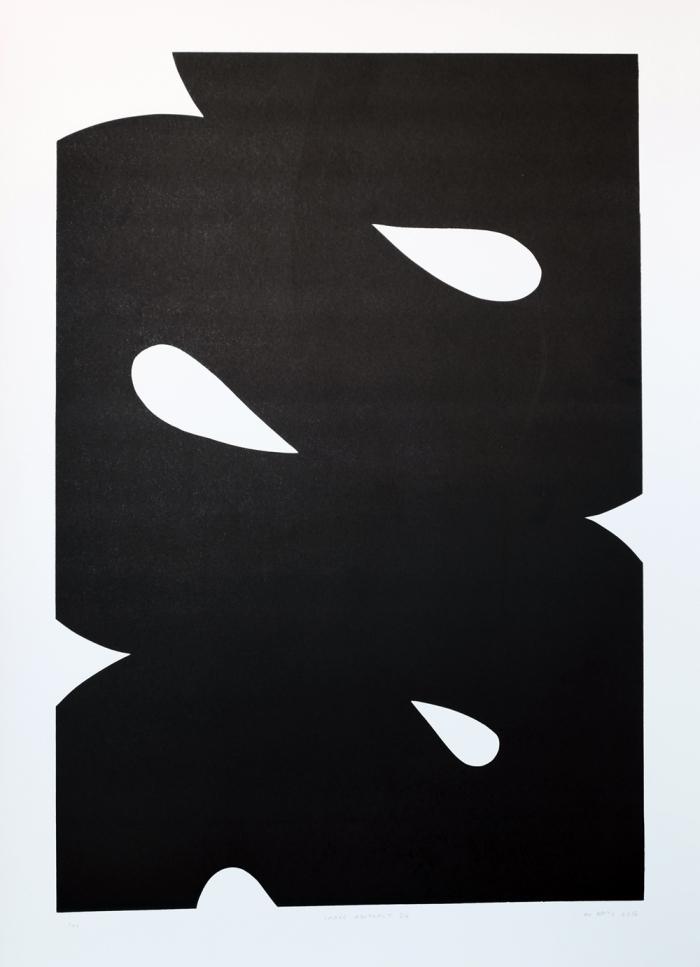 Snake-Abstract-3.4.-2015.-Linocut-on-Zerkall-Litho-Paper